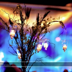 Wedding led uplighting at Brackett's Crossing 5