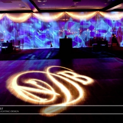 Wedding led uplighting at Brackett's Crossing 7