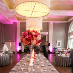 Minneapolis Wedding led uplighting at Calhoun Beach Club 25