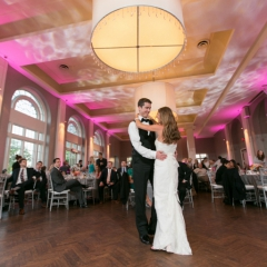Minneapolis Wedding led uplighting at Calhoun Beach Club 27