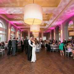 Minneapolis Wedding led uplighting at Calhoun Beach Club 29