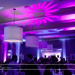 Minneapolis Wedding led uplighting at Calhoun Beach Club 15