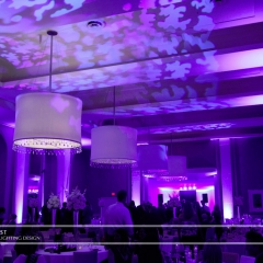Minneapolis Wedding led uplighting at Calhoun Beach Club 16
