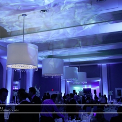 Minneapolis Wedding led uplighting at Calhoun Beach Club 17