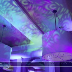 Minneapolis Wedding led uplighting at Calhoun Beach Club 18