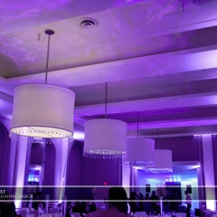 Minneapolis Wedding led uplighting at Calhoun Beach Club 19