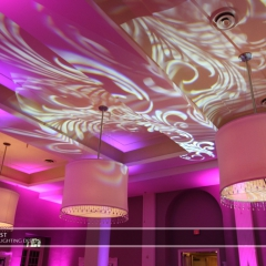 Minneapolis Wedding led uplighting at Calhoun Beach Club 22