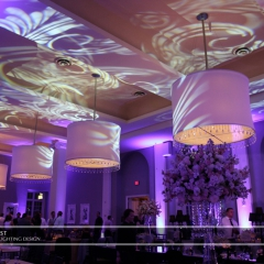 Minneapolis Wedding led uplighting at Calhoun Beach Club 23