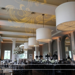 Minneapolis Wedding led uplighting at Calhoun Beach Club 24