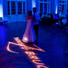 Minneapolis wedding led uplighting at Calhoun Beach Club 3