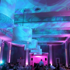 Minneapolis wedding led uplighting at Calhoun Beach Club 4