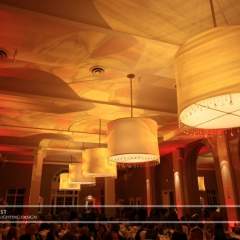 Minneapolis Wedding led uplighting at Calhoun Beach Club 6