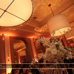 Minneapolis Wedding led uplighting at Calhoun Beach Club 8