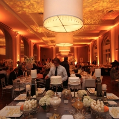 Minneapolis Wedding led uplighting at Calhoun Beach Club 9