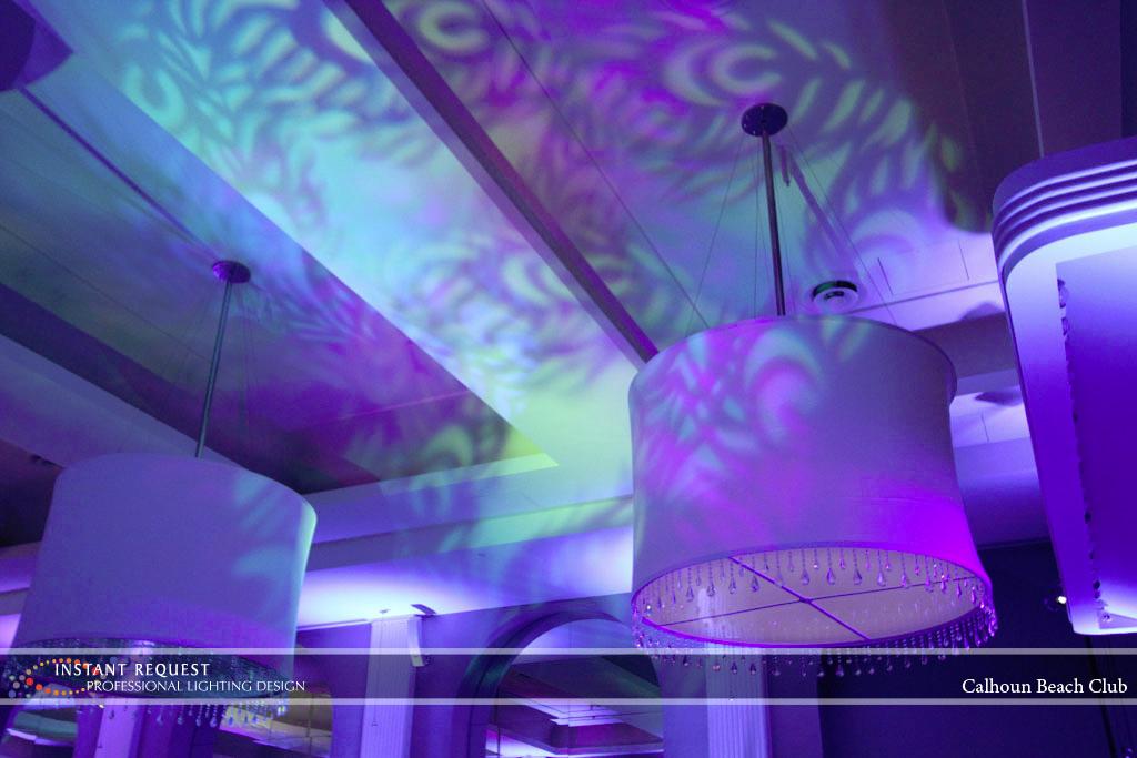 Minneapolis Wedding led uplighting at Calhoun Beach Club 18
