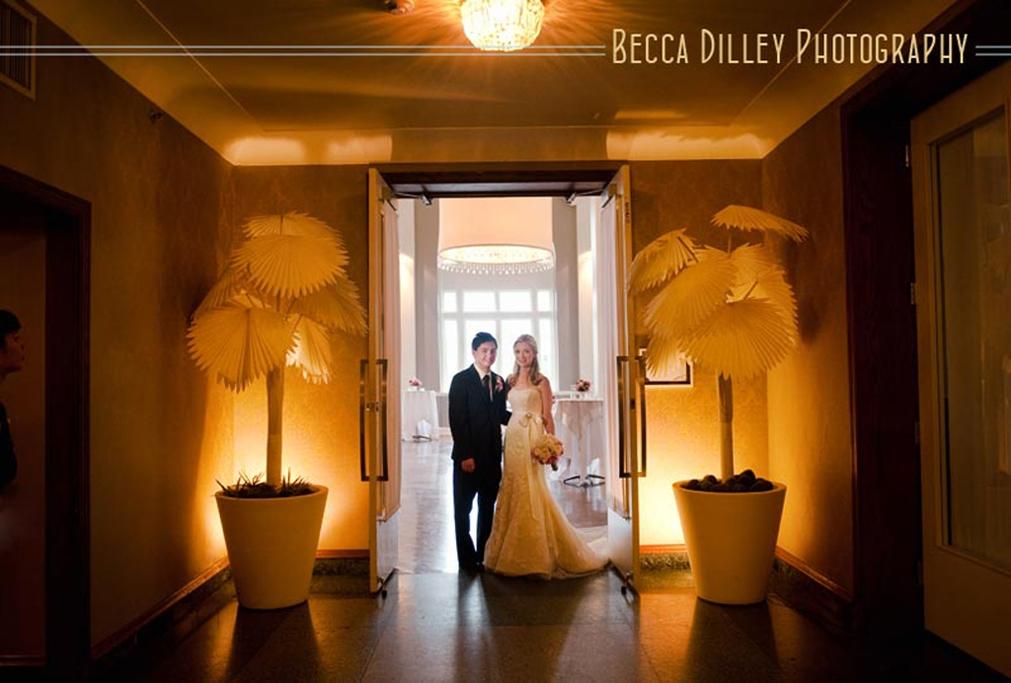 Minneapolis Wedding led uplighting at Calhoun Beach Club 20