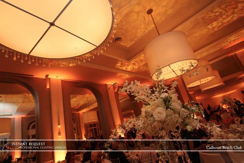 Minneapolis Wedding led uplighting at Calhoun Beach Club 8