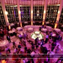 Wedding led uplighting at Carlson Rotunda 21