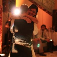 Wedding led uplighting at Carlson Rotunda 10