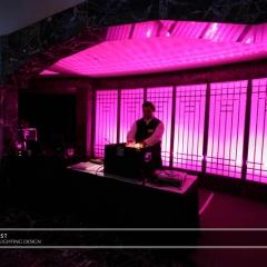 Wedding led uplighting at Carlson Rotunda 11