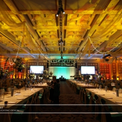 Event lighting at Minneapolis Convention Center