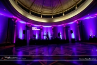Wedding led uplighting at Crowne Plaza Riverfront 10