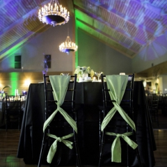 Wedding Uplighting at Dellwood Hills 20