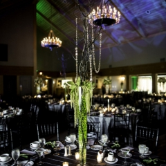 Wedding Uplighting at Dellwood Hills 21