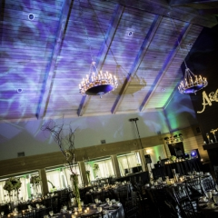 Wedding Uplighting at Dellwood Hills 28