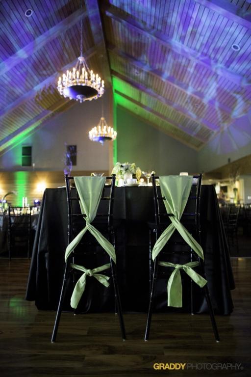 Wedding Uplighting at Dellwood Hills 20