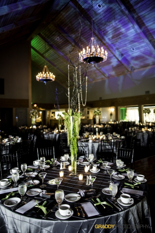 Wedding Uplighting at Dellwood Hills 22