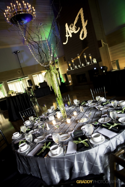 Wedding Uplighting at Dellwood Hills 24