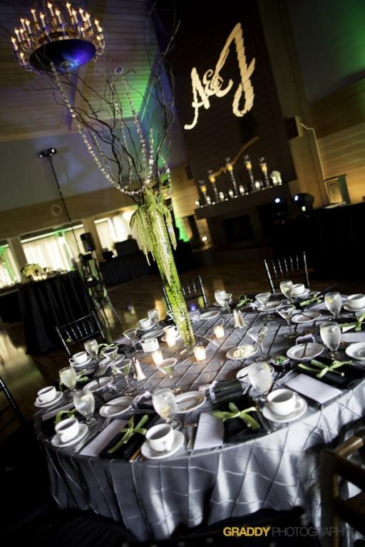Wedding Uplighting at Dellwood Hills 24