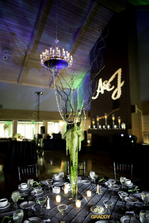 Wedding Uplighting at Dellwood Hills 25