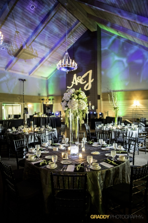 Wedding Uplighting at Dellwood Hills 26