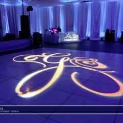 Wedding led uplighting at Depot Minneapolis 1