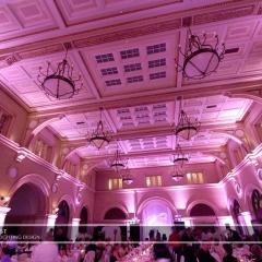 Wedding led uplighting at Depot Minneapolis 20