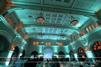 Wedding led uplighting at Depot Minneapolis 25