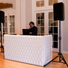 1 DJ booth White Tufted 2