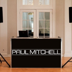 Custom Paul-Mitchell-graphic-on-DJ-booth