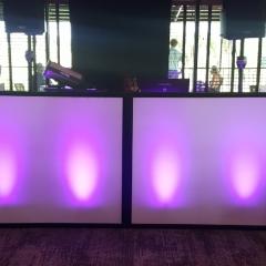 Spandex-DJ-booth with uplighting