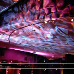 Wedding led uplighting at Five Event Center 1