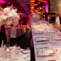 Wedding led uplighting at Loews Hotel 11