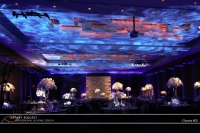 Wedding led uplighting at 601 Graves 3