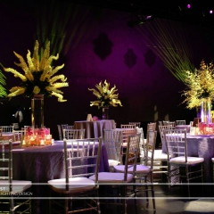 Wedding led uplighting at Guthrie  12