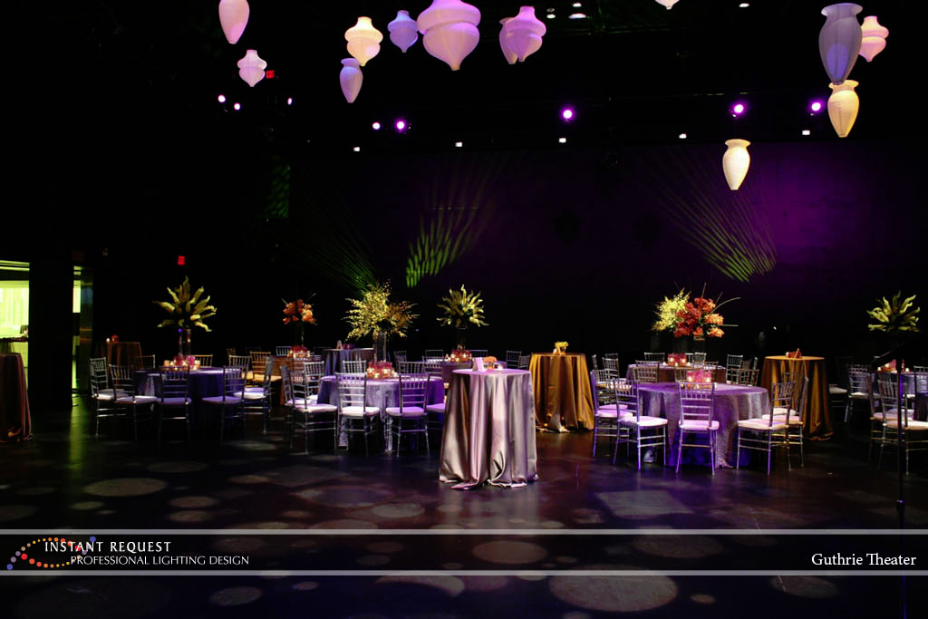 Wedding led uplighting at Guthrie  13