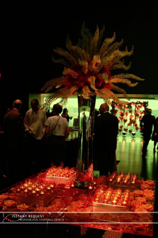 Wedding led uplighting at Guthrie  15