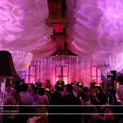 Wedding led uplighting at Interlachen  5