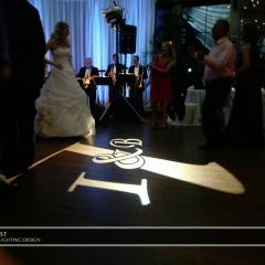 Wedding led uplighting at Interlachen  7