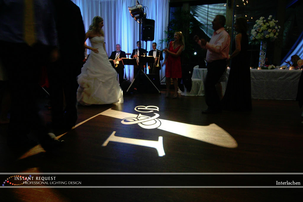 Wedding led uplighting at Interlachen  7